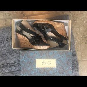 Brand New Cork Wedge Sandals